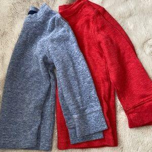 Cat & Jack thermal long sleeves